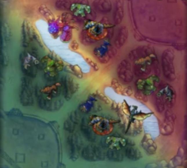 Карта разлома призывателя